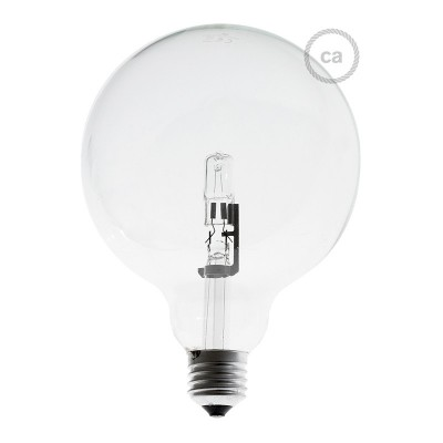 Globe Halogen Light Bulb Halo 126 70W Dimmerable E27