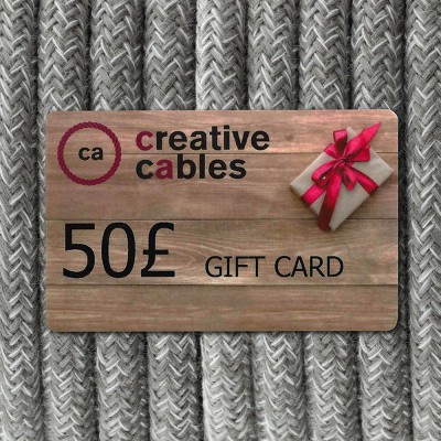 Gift Card, Creative-Cables 50 Pounds