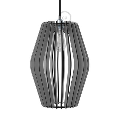 Pregia Rombo Dibond lampshade with alluminium finish